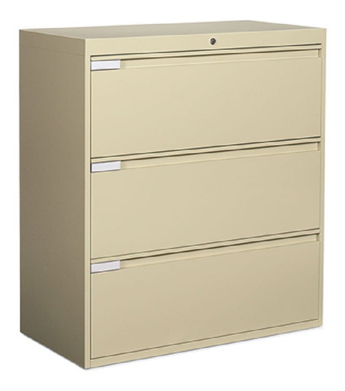 "Global: 3 Drawer Lateral, 30"" Width"