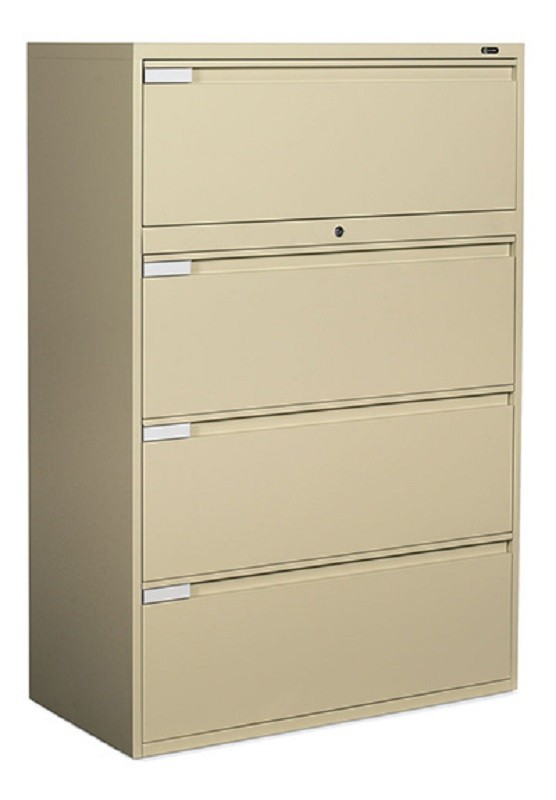 """Global: 4 Drawer Lateral, 42"""" Width"""