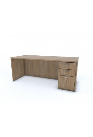 Desk with Single Pedestal