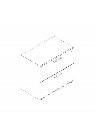 "2 Drawer Lateral 24"" Width"