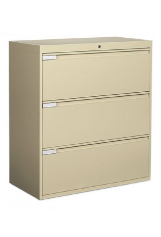 "Global 3 Drawer Lateral 42"" Width"