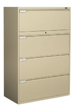 "Global 4 Drawer Lateral 42"" Width"