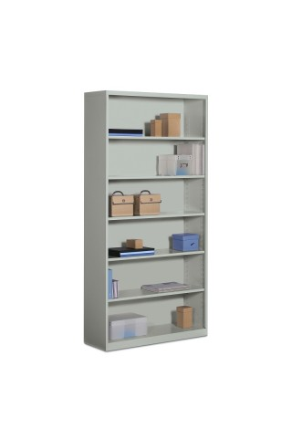 6 Shelf Steel Bookcase