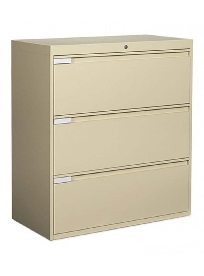 "Global: 3 Drawer Lateral, 42"" Width"