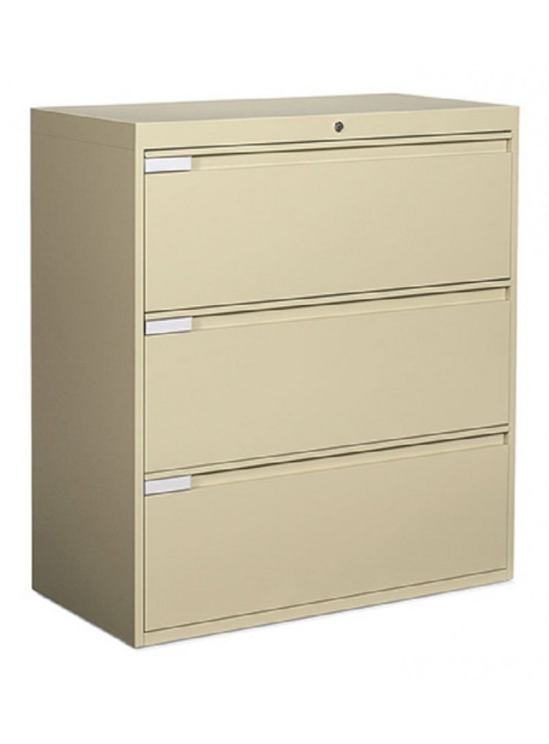 """Global 3 Drawer Lateral 36"""" Width"""