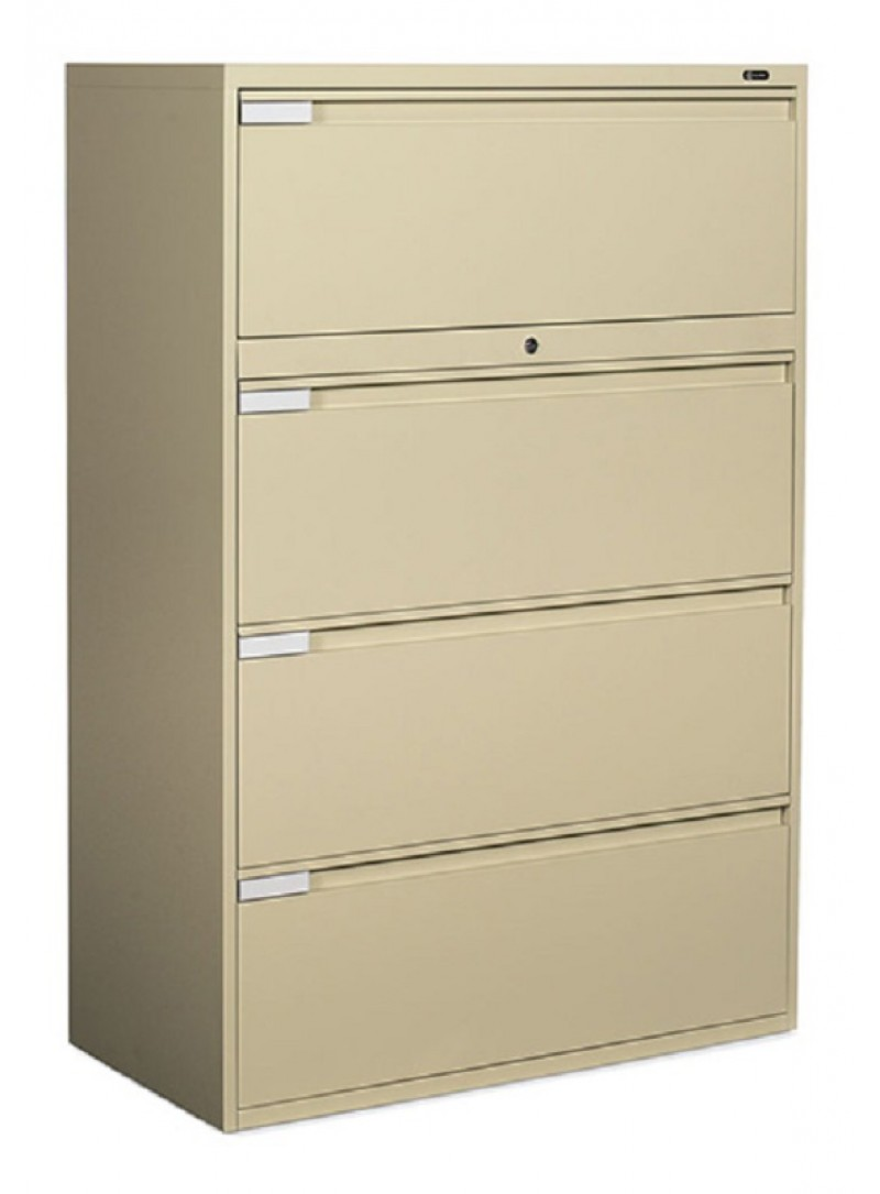 "Global: 4 Drawer Lateral, 42"" Width"